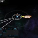 Kolonieschiff ist in Position
