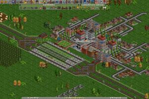 ein viergleisiger Stadtbahnhof