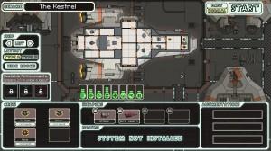 Die Schiffsauswahl zu Spielbeginn erfolgt im Hangar