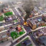 SimCity: Concept Art - Feuerwehreinsatz