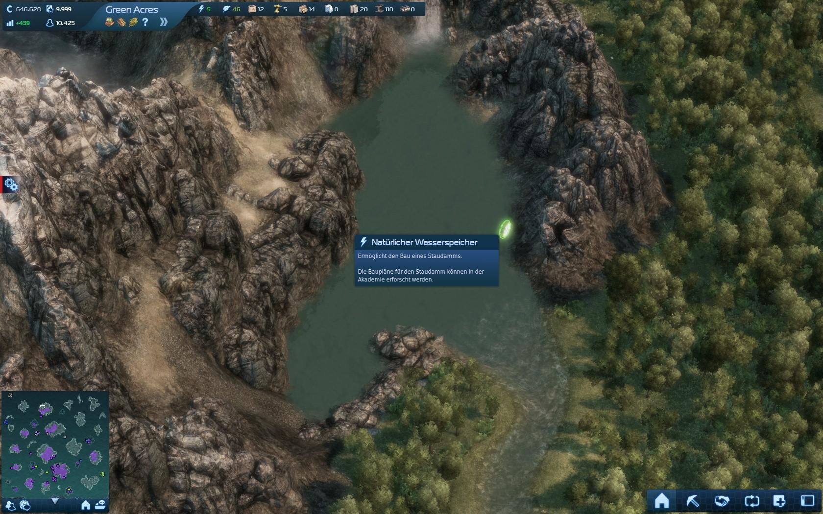 Wasser Halt ! – Hydroelektrisches Kraftwerk in Anno 2070