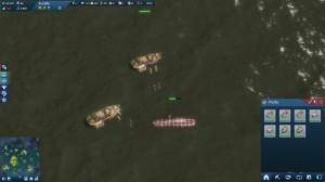Vernichtung eines U-Bootes