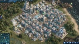 Kompletter Ausbau der Tech-Siedlung