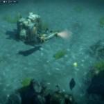 Das fertige Unterwasserkontor