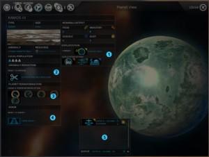 Planetenansicht (2. Teil)