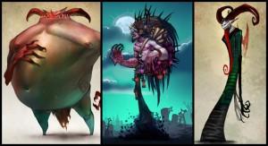 "Nekro: ""Troll"", ""Nekro"" und ""The Evil"""