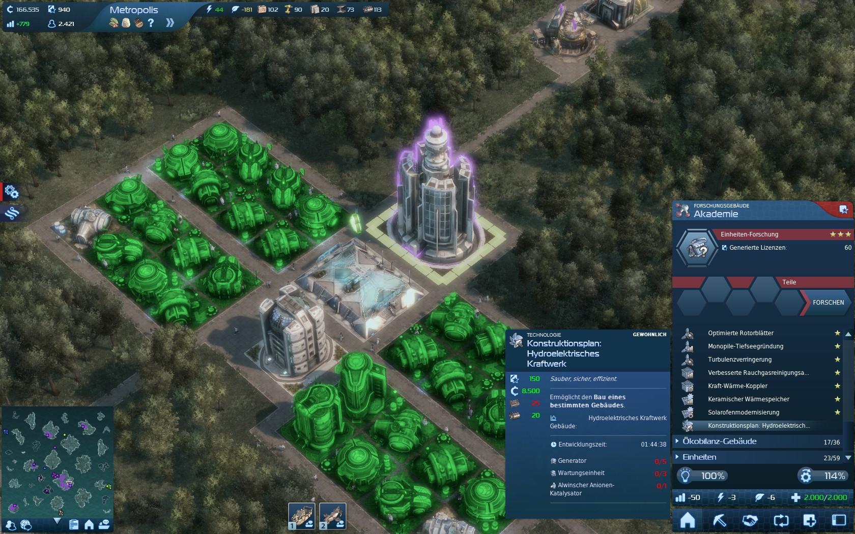 Anno 2070: Metropolis – Kapitel 8 « Anno Holobook « Tipps